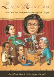 Book Cover Image - Lives of the Musicians