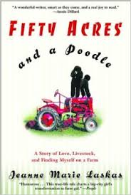 Book Cover Image - Fifty Acres and a Poodle